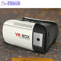 Wholesale 2016 Sohitech China Newest VR D Virtual Reality Cardboard Headset VR goggles cardboard VR CASE VR02 D VR BOX Version VR