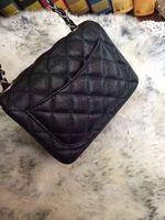 Wholesale Ms mini classic flap caviar leather small bread fashion chain single shoulder bag