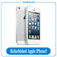 Wholesale Apple iPhone5 Phone Refurbished Cell Phones Original iPhone Unlocked Mobile Phone Dual core GHz GB Also Have S6 S7 In Stock