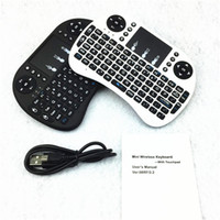 Wholesale Rii i8 Remote Mouse Keyboard Combo Wireless GHz Touchpad Keypad For U1 KODI S905 MXQ PRO M8S WIFI Bluetooth OTT TV