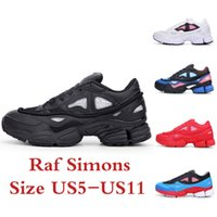 Cheap Raf Simons Consortium Ozweego 2 2016 Fashion Sneakers Mens and Womens Running Shoes Black White Red Size US5-US11