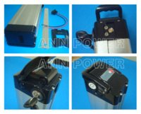 Wholesale E bike battery case v battery box With free cell holder and nickel strip New and retail