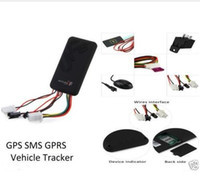 alarm systems online - GT06 Car GPS Tracker SMS GSM GPRS Vehicle Online Tracking System Monitor Remote Control Alarm for Motorcycle Car Locator