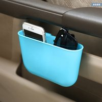 Wholesale Creative motor vehicle supplies hanging type garbage storage box with a small car car trash