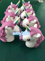 Wholesale 2016 new Portable Emoji horse unicorn Power bank Battery Charge Unicorn Cartoon Design USB for Iphone S S S xiaomi sumsung