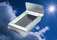 Cheap Solarstars 1W solar wall Light Body Induction Sensor Light-operated Waterproof LED for Outdoor Garden Fence Pathway Gutter Yard