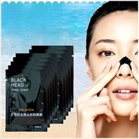 Wholesale PILATEN sunction Blackhead Remover black head mask Deep Cleaning Purifying Peel Acne Treatment Mud Black Mud Face Mask pore cleaner strip
