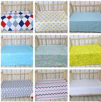 baby mattress sheets - Baby bed ins sheet Crib Cot Bed Sheet Crib Sheets Kids cartoon swan mattress cover cotton bed sheet soft crib cm KKA629