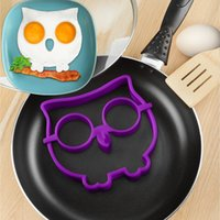 appliances delivery - 1pcs New owl Breakfast Omelette silicone mold DIY Egg Ring Shaper Creative Kitchen Appliances free delivery