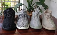 Wholesale 2016 kanye west shoes moonrock oxford tan pirate black turtle doves grey shoes man women outdoor running shoes