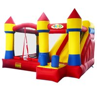 Wholesale Indoor Residential Inflatable PVC Bouncer Bouncy Castle House For Kids