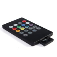Wholesale with key For RGB Strip Light IR Remote LED Music Controller Channel Output led light helmet