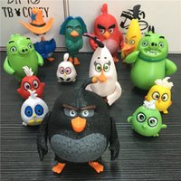 Wholesale Angry birds Decoration toys set style birds model toys home Pendant action figures kids toys
