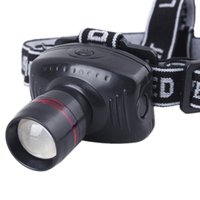 Wholesale Headlight LED Flashlight Focus Strap Head Lamp Adjustable For Camping Hot New