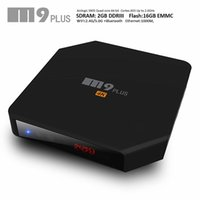 band dual - Android Smart TV Box M9 plus Amlogic S905 GB GB better than G GHz Dual Band WiFi KODI Quad Core Android M8S plus