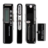 Wholesale Professional Mini Digital Voice Recorder Pen Audio Recorder with GB Built in Memory LCD Display MP3 Music Player