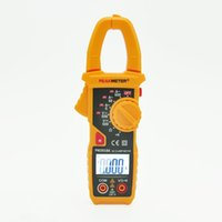 Cheap Professional 6000 Counts Digital AC Clamp Meter with Backlit Similar with Fluke Clamp Meter PEAKMETER PM2018A Multimeter