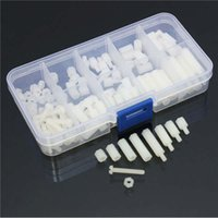 Wholesale Price M3 Nylon Hex Spacers Screw Nut Assortment Kit Stand off Accessories Set