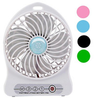 Wholesale Newest Portable Mini USB Fan Indoor Outdoor Kids Fans Charging Battery Powered Handheld cooler fan Cooling table Fan summer gift