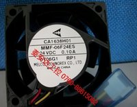 abb plc - Melco MMF F24ES RP1 square Cooling Fan with V A wires For Converter ABB PLC