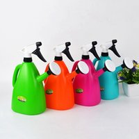 Wholesale Hot Sale Plastic Watering Cans Gardening Tools Garden Bonsai Flowers Plant Water Spray Head Water Container Adjustable Random JR0013