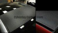 auto decal paper - 127cmx30cm D M DIY Auto Carbon Fiber Vinyl Film Carbon Car Wrap Sheet Roll Film Paper Sticker Decal Scraper Tools Car Styling