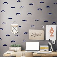 beard art - 270PCS Acrylic Wall Stickers Beard For Kids Rooms Christmas Cute Decoration Wall Stickers Home Decor