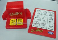 baby concentration - Improve concentration board game ZINGO SWIFT Remember the words baby toys Children s Books