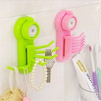 Wholesale Super multifunction hooks wall clothes rack cloth hook wall Robe Hook for bathroom kitchen Hanging Hooks Wall Accessorie