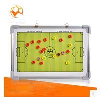 Wholesale Latest magnetic football soccer coaching board football tactics board soccer tactics plate whiteboard marker pen Clipboard