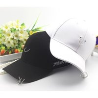 baseball hat pins - Clening Sale Gd unisex solid Ring Safety Pin curved hats baseball cap men women snapback caps sport casquette gorras