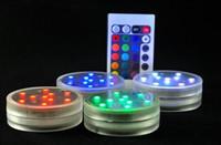 Wholesale Glass hookah shisha LED hookah Light showing Magical Led Glass Shisha Hooka with colors SMD5050 LED light