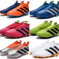 ace massage - 2017 New Ace Purecontrol Soccer Shoes Cleats Pure Control Football Shoes Men Soccer Cleats Boots Cheap Mens Football Shoes