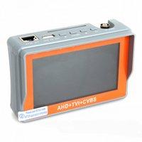 fullfunction AHD portátil + TVI + CVBS Ahd / Tvi / CVBS cámara CCTV Tester 1080P la cámara del probador de 4,3 pulgadas LCD de video de la prueba 12V Potencia de salida de pruebas de cable