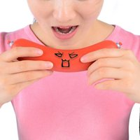 big pressure - Creative Funny Pressure Reducing Stress Reliever Sausage Style Toy Red