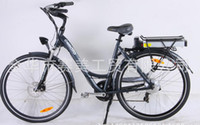 Wholesale New Original Classic Electric Bike Eco friendly Bicycle City Bike for Women V W Samsung battery speed gears