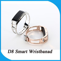 android phone numbers - Hot Sale Fashion and Particular Smart Watch Wristbands D8 Sport Wristbands Elegance Mobile Phone Shows the Caller Number