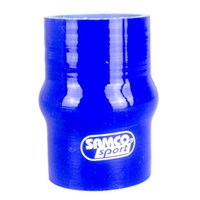 Wholesale Universal Samco Car Auto Straight Turbo Intake Silicone Hump Hose Connector silicone Rubber Coupler Straight Pipe Tube Blue Reinforced Turbo