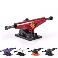 wave skateboard - L Street bridge magnesium alloy plate bracket skateboarding roller wave board hollow casting anchor truck