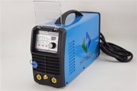 aluminum arc welding - HITBOX brand new TIG200P ACDC V welding machine with foot control tig torch and plugs for aluminum welding