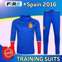 football training - NEW arrival Spain training Football training clothes Spain sweatshirt spain TORRES XAVI FABREGAS Camiseta de futbol tracksuit