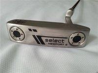 Wholesale Select NEWPORT Putter Golf Clubs NEWPORT Putter Clubs Inch Steel Shaft Regular Stiff Flex With Head Cover
