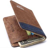 best irs - gifts irs Vintage Canvas wallets men quality assurance man purse carteira masculina best gift for boyfriend husband retro purses