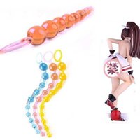 adult homes - Home Adult Sex Toy Silicone Chain Anal Butt Beads Stimulator Orgasm Plug Gift X1 R21