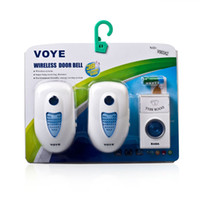 Wholesale Voye A2 Plug In Wireless Digital Doorbell with Battery White
