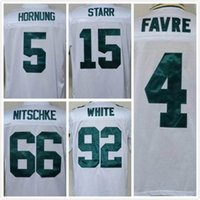 bart starr throwback jersey - cheap Throwback Packers Brett Favre RAY NITSCHKE Bart Starr reggie white Throwback th Patch Jerseys Mix Orders M XXXL