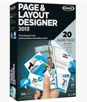 advertising business development - Posters business cards advertising design software MAGIX Page and Layout Designer2013 ENGLISH