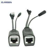 Wholesale 10 Mbps rj45 Dc12V cm surveillance system power poe splitter switch injector for cctv camera system