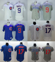 Wholesale 2016 Newest Men s Chicago Cubs Javier Baez Kris Bryant Flexbase Baseball Jerseys