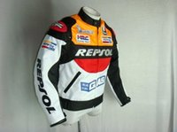 Wholesale 2016 New DUHAN Moto Racing Jackets motorbike GP REPSOL motorcycle Riding Leather Jacket Top Quality PU leather orange and blue